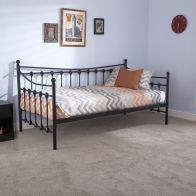 See more information about the Memphis Single Day Bed Black Metal