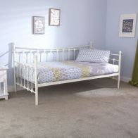 See more information about the Memphis Single Day Bed White Metal