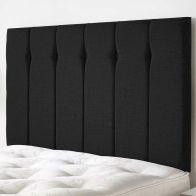 See more information about the Ambleside Weave Fabric Black 5ft King Size Bed Headboard