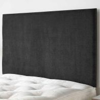 See more information about the Ardley Linen Fabric Black 6ft Super King Size Bed Headboard