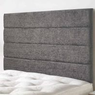 See more information about the Lune Headboard Dark Grey & Velour Fabric Single