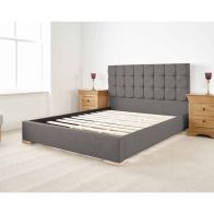 See more information about the Banks Single Bed Grey