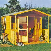 See more information about the Shire Milton Garden Summerhouse & Veranda (8' x 9')