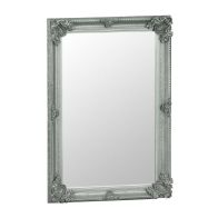 See more information about the Venetian Bevelled Mirror Grey & Glass 80 x 115cm