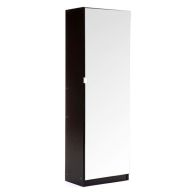 See more information about the Mirrored Black Shoe Cabinet 150cm