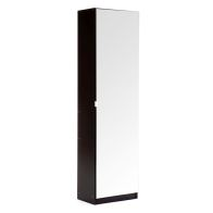 See more information about the Mirrored Black Shoe Cabinet 180cm
