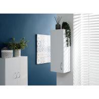 See more information about the Moritz White 1 Door Bathroom Cabinet