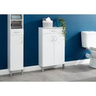 See more information about the Moritz White 2 Door 1 Drawer Bathroom Cabinet