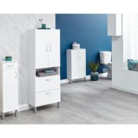 See more information about the Moritz White 2 Door 2 Drawer Bathroom Cabinet