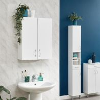 See more information about the Moritz White 2 Door Bathroom Cabinet