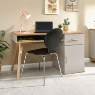 See more information about the Nordica Desk Grey 1 Door 1 Shelf 1 Drawer