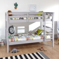 See more information about the Novaro Single Bunk Bed Grey