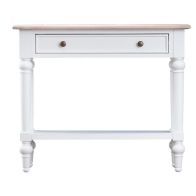 See more information about the Painted Oak 1 Drawer Console Table