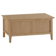 See more information about the Bayview Blanket Box Oak 1 Door