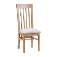 See more information about the Bayview Slat Back Dining Chair Oak
