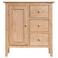 See more information about the Bayview Large Cabinet Oak 3 Drawer