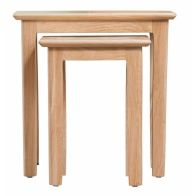 See more information about the Campton Oak Nest Of 2 Tables