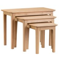 See more information about the Bayview Trio Nest of Tables Oak