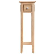 See more information about the Campton Oak 1 Drawer Plant Stand