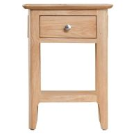 See more information about the Campton Oak 1 Drawer Side Table
