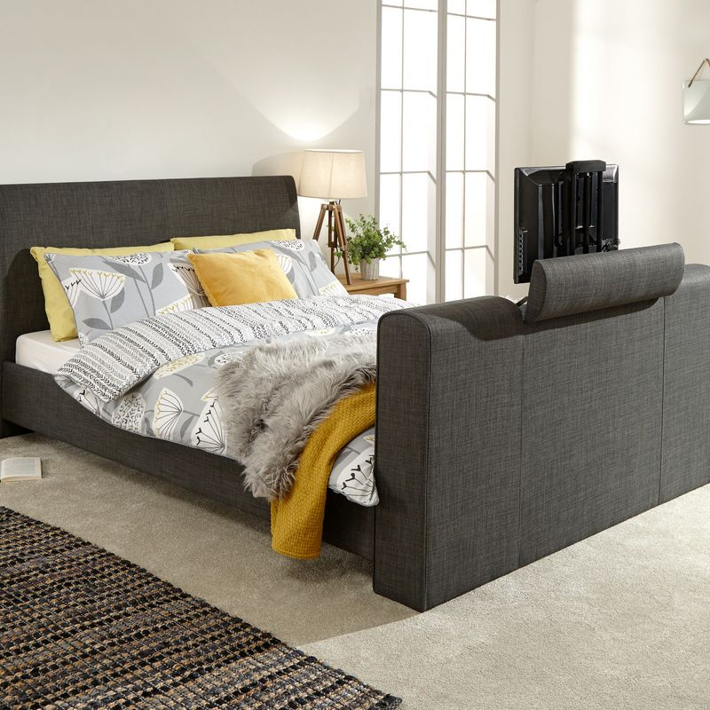 Awesome Buy Brooklyn Double Ottoman Bed Grey Online At Cherry Lane Forskolin Free Trial Chair Design Images Forskolin Free Trialorg