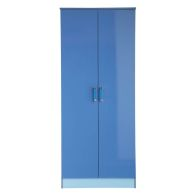 See more information about the Ottawa Wardrobe Blue 2 Door
