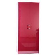 See more information about the Ottawa Wardrobe Pink 2 Door