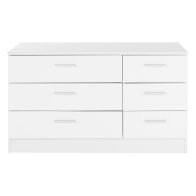 See more information about the Ottawa White Wide Chest Of 6 Drawers