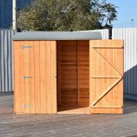 See more information about the Shire Overlap Value Apex Pressure Treated Double Door Shed 6' X 3'