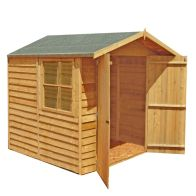 See more information about the Shire Overlap Garden Shed & Window 7' x 7'