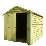 See more information about the Shire Overlap Pressure Treated Shed (8' x 6')