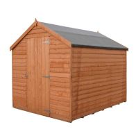 See more information about the Shire Overlap Value Apex Single Door Shed 8' X 6'