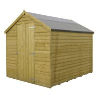 See more information about the Shire Overlap Pressure Treated Garden Shed 8' x 6'