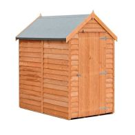 See more information about the Shire Overlap Value Apex Single Door Shed 6' X 4'