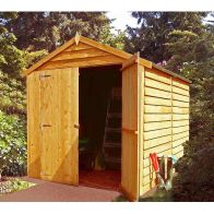 See more information about the Shire Overlap Value Apex Double Door Shed 8' X 6'