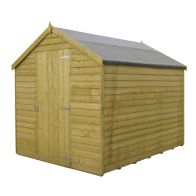 See more information about the Shire Overlap Pressure Treated Garden Shed 7' x 5'