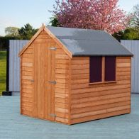 See more information about the Shire Overlap Value Apex Single Door Shed 7' X 5'