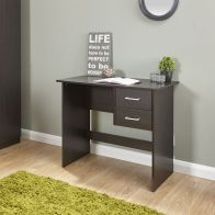See more information about the Panama Dark Brown 2 Drawer Desk