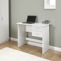 See more information about the Budget Desk White 2 Drawer