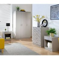 See more information about the Panama 4 Piece Bedroom Set Grey