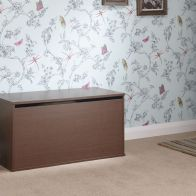 See more information about the Panama Walnut Finish Ottoman Storage Box