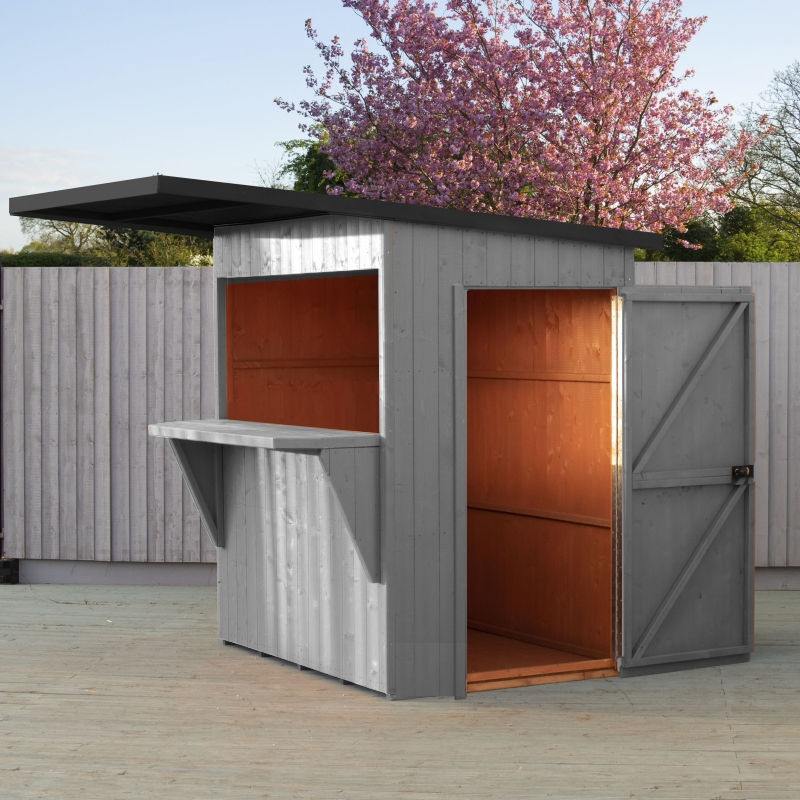 See more information about the Shire Premium Paradise Bar & Storage Shed Shed 6' X 4'