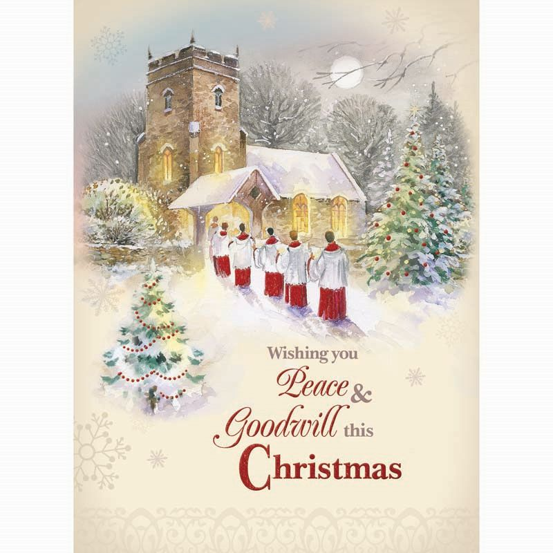Buy Christmas Cards Church Scenes - Online at Cherry Lane