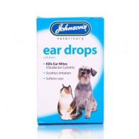 See more information about the Johnsons Johnson Dog & Cat Ear Drops