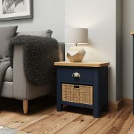 See more information about the Westbridge Light Oak & Blue 2 Drawer Chest Of Drawers