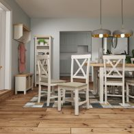 See more information about the Westbridge Light Oak & Dove Grey Chair