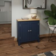See more information about the Westbridge Light Oak & Blue 2 Door Sideboard
