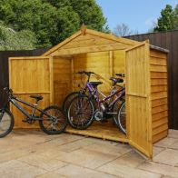 See more information about the Mercia Overlap Apex Bike Garden Storage