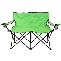 See more information about the Double Folding Camping Chair Love Seat Sofa Travel Chair