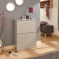 See more information about the Stirling Shoe Storage Grey 2 Door
